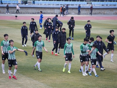 SKKU Wins 1st Prize in the Spring Korea University Football Confederation Championship