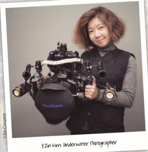 "Interview with Y.Zin Kim―Underwater Photographer: Say ""Cheese"" Under the Sea!"