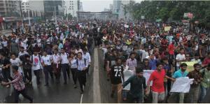 Road Safety Protest in Bangladesh